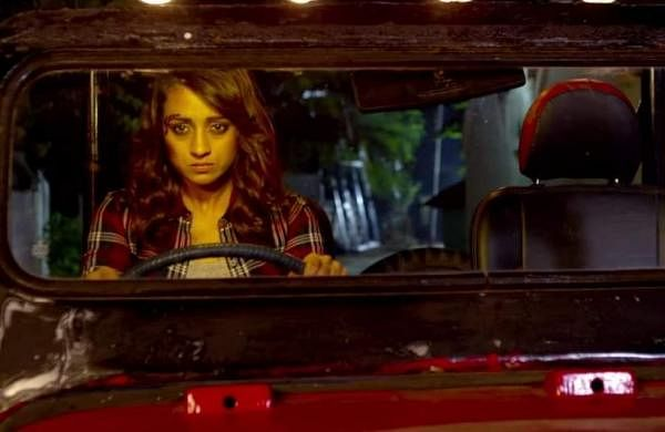 Garjanai Trailer:  25 action-packed frames featuring Trisha that hint at one hell of a road trip