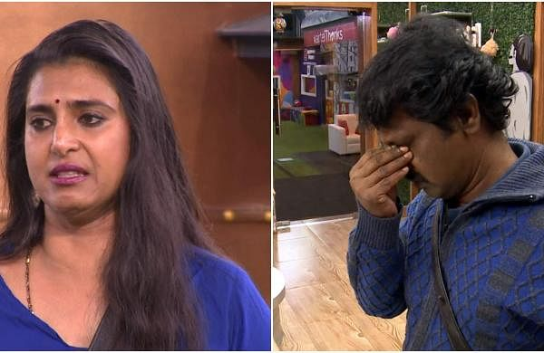 Bigg Boss Tamil 3 - Kasturi breaks down. Cheran to talk to Kavin about relationship with Losliya in the next episode.
