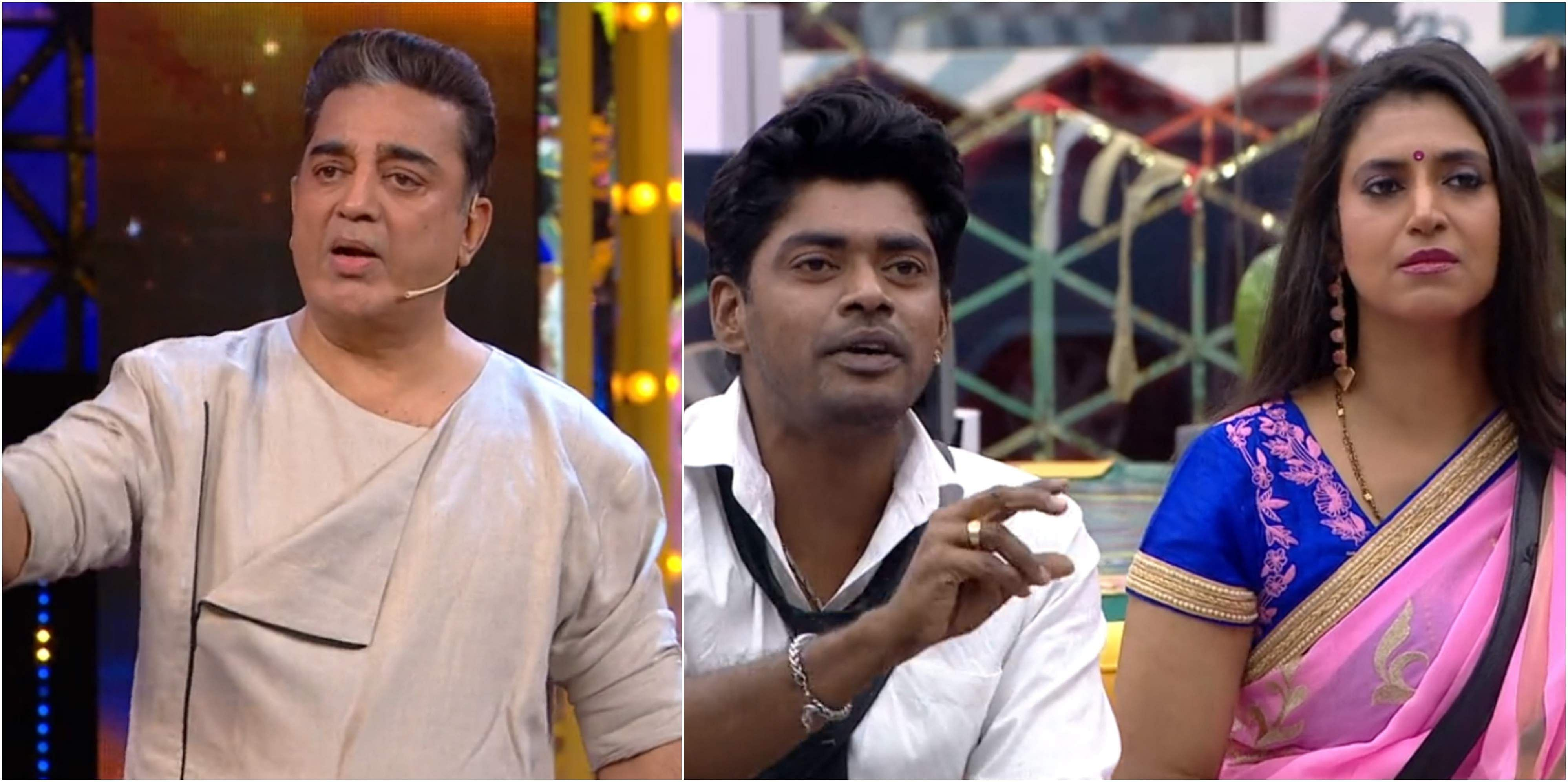Bigg Boss Tamil 3 - Kamal Haasan's Vishwaroopam to take Sandy, Losliya, and Kavin to task