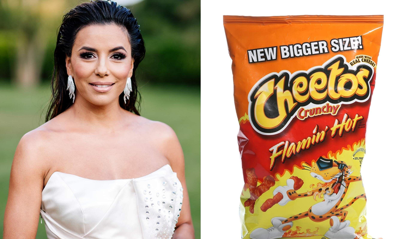 Eva Longoria Flamin' Hot Cheetos
