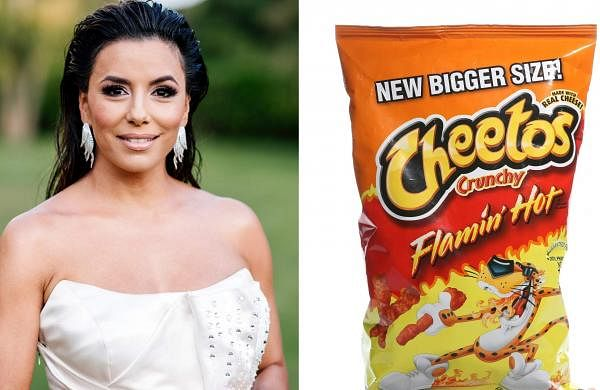 Eva Longoria Flamin' Hot Cheetos