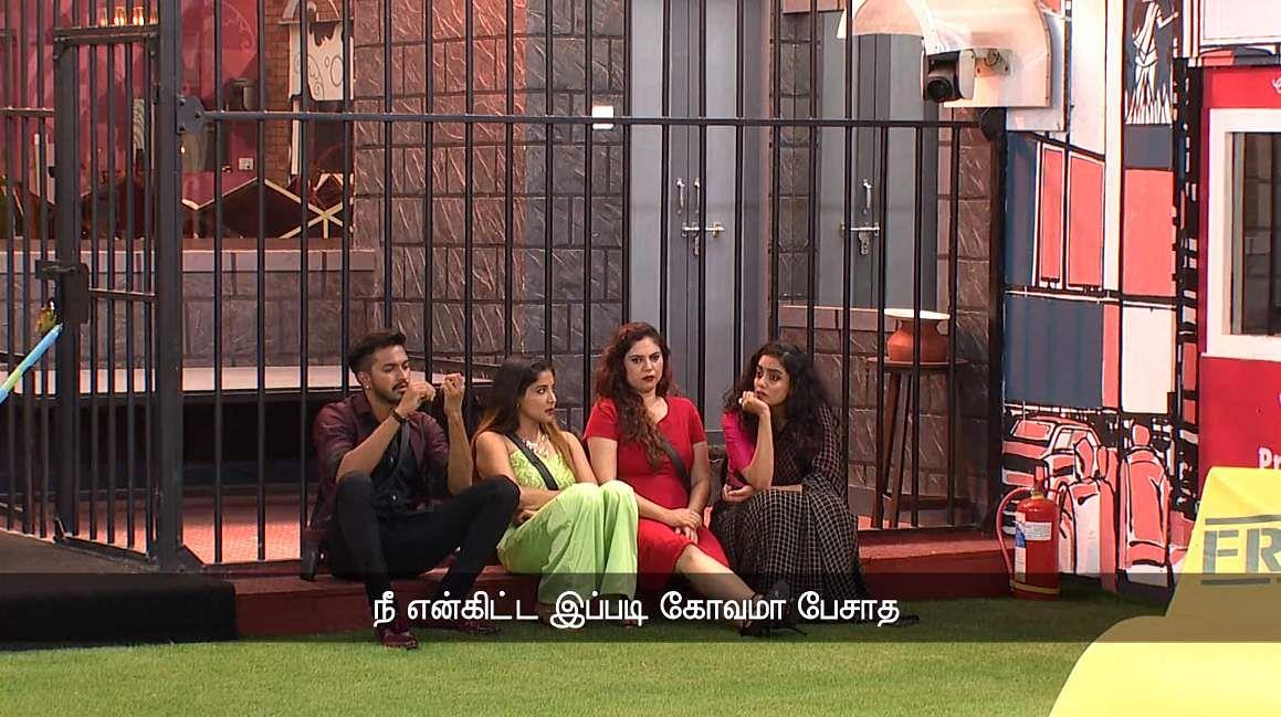 Bigg Boss Tamil 3: Saravanan's eviction, Losliya's nominationand Sakshi's backstabbing
