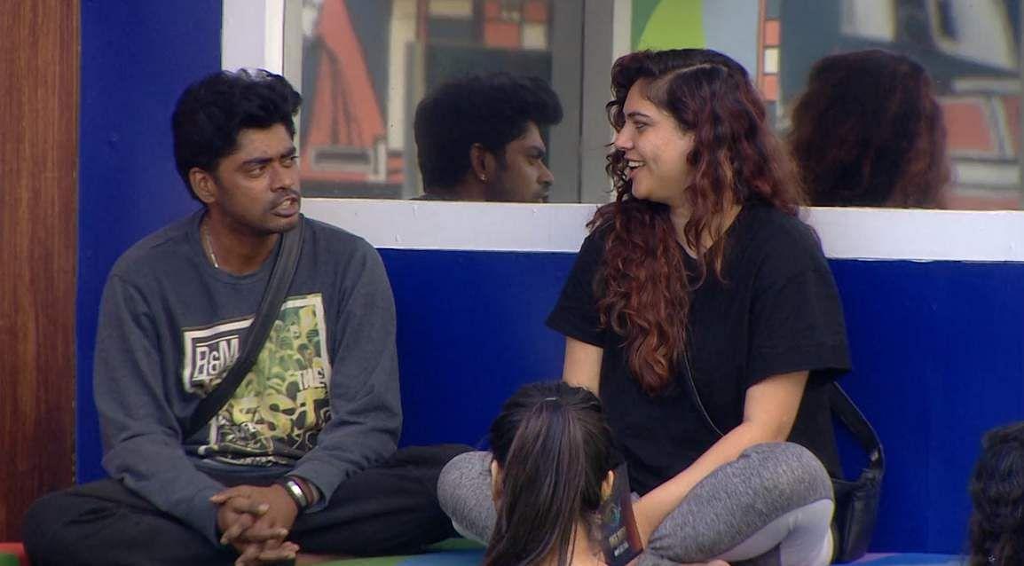5Bigg Boss Tamil 3: Saravanan's eviction, Losliya's nominationand Sakshi's backstabbing