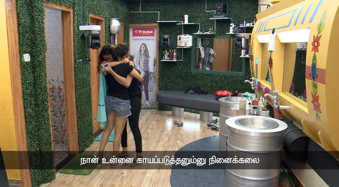 6Bigg Boss Tamil 3: Saravanan's eviction, Losliya's nominationand Sakshi's backstabbing