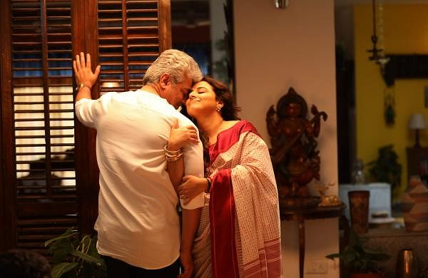 Brand new stills from Ajith's Nerkonda Paarvai