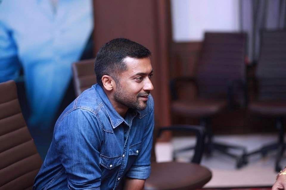 Suriya Kaappaan audio launch