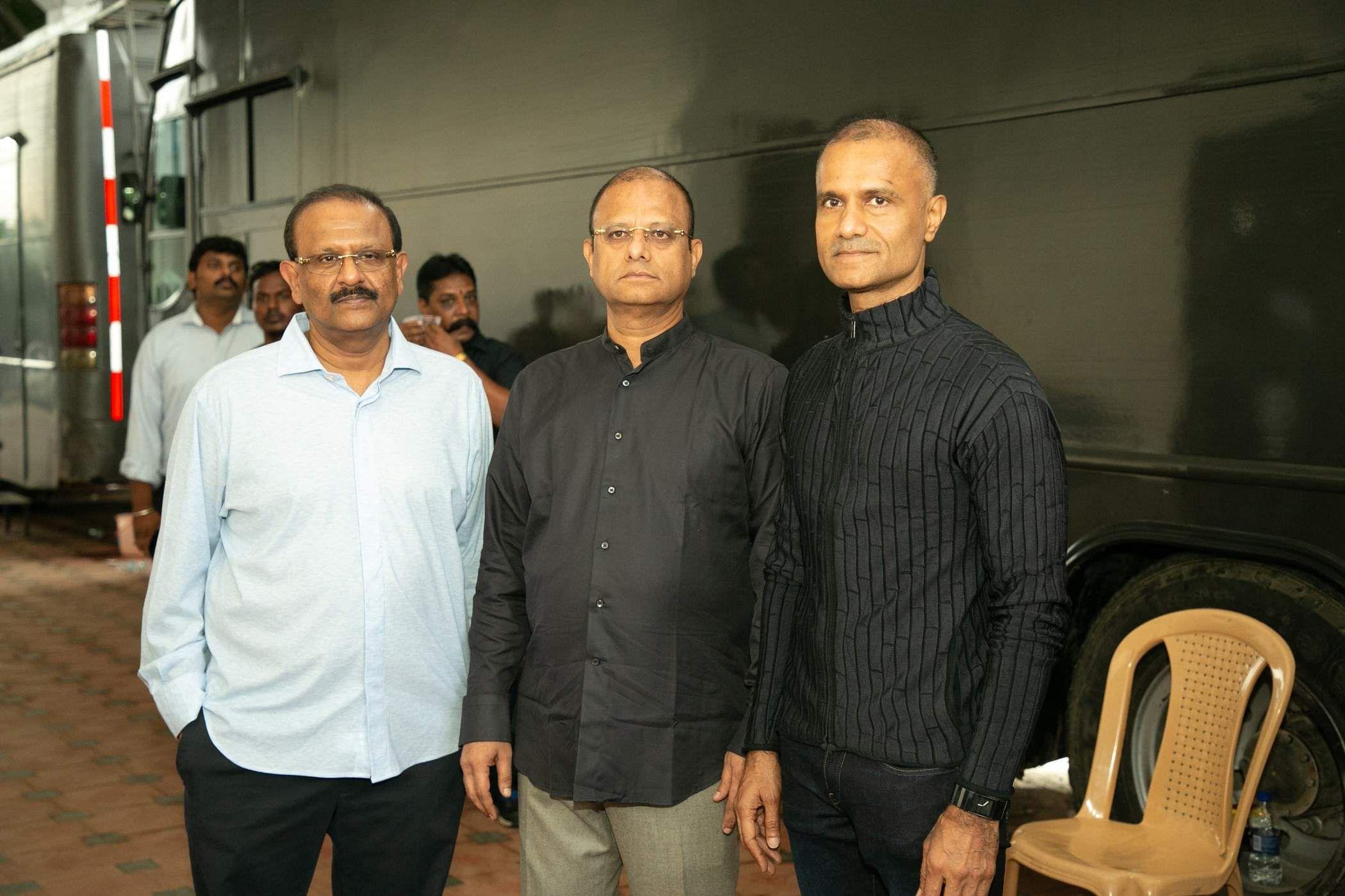 Brand new stills from the audio launch of the Vijay starrer Bigil