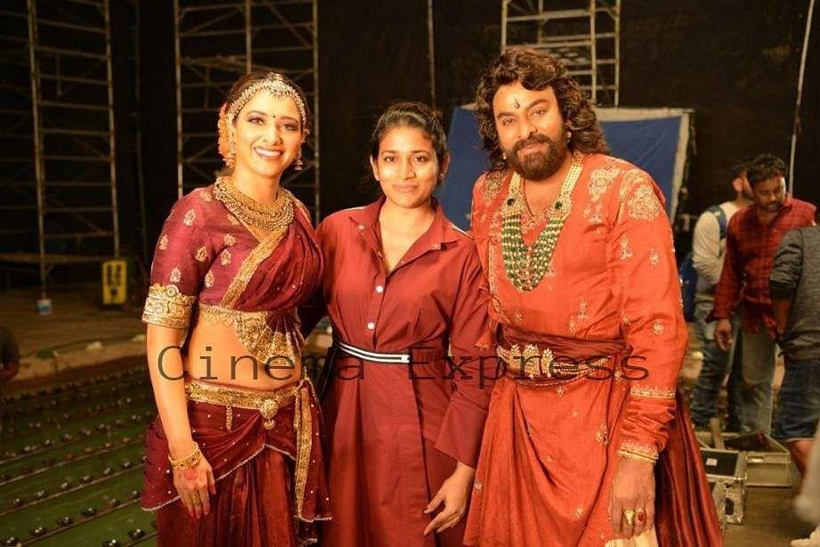 Sushmita Konidela Interview Syeraa Narasimha Reddy Costume Designer Cinema Express
