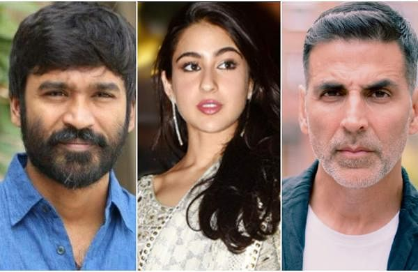Dhanush, Sara Ali Khan, and Akshay Kumar