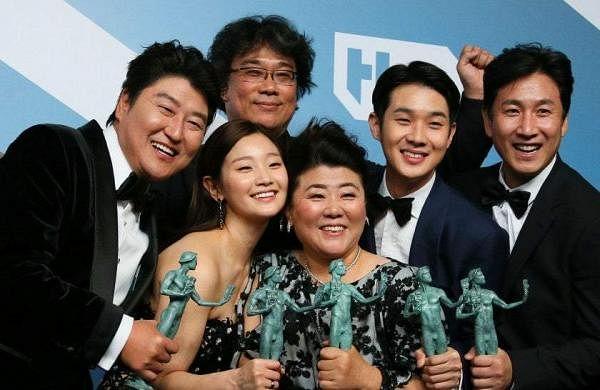 Parasite makes history at SAG Awards