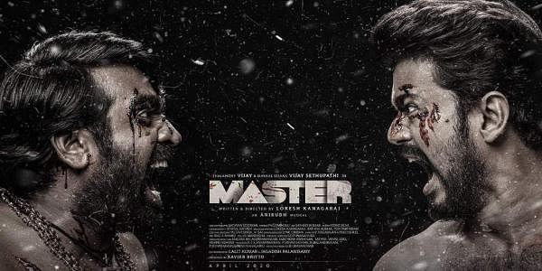 Vijay and Vijay Sethupathi in Master