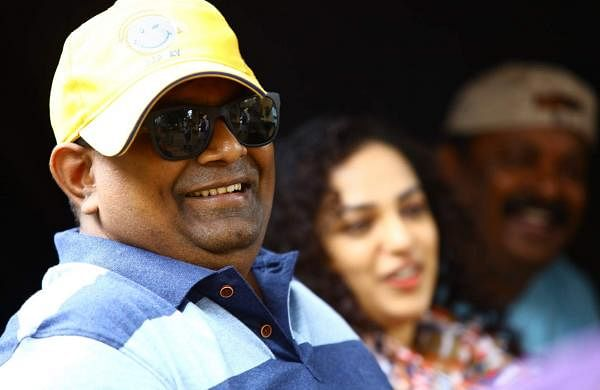 Mysskin on the sets of Psycho