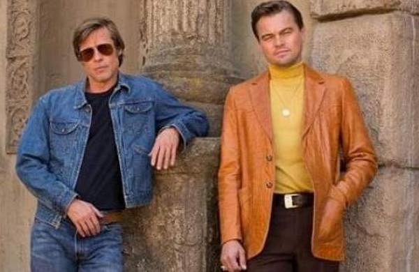 Brad Pitt and Leonard DiCaprio