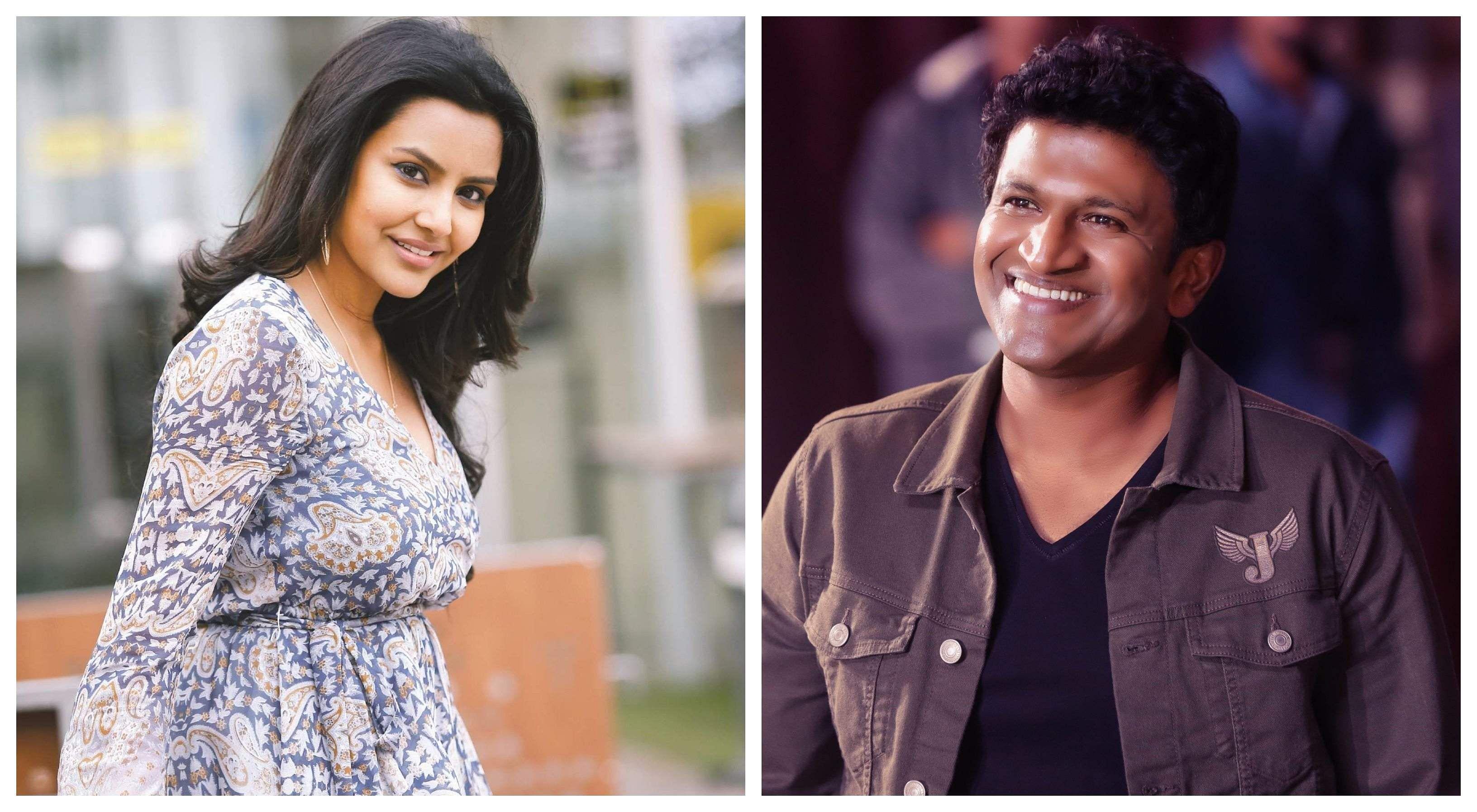 Priya Anand and Puneeth Rajkumar