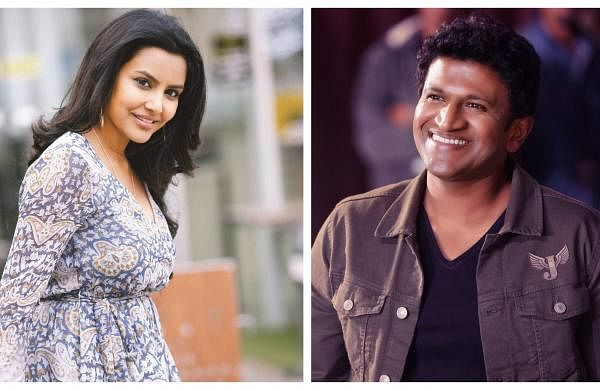 Priya Anand and Puneeth Rajkumar