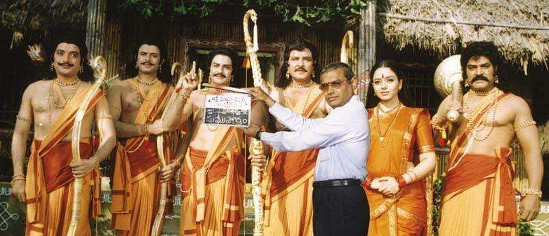 Balakrishna, Soundarya's Narthanasala to have an online release