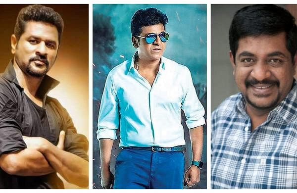 Prabhdheva, Shivarajkumar, and Yogaraj Bhat and
