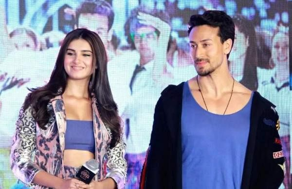 Tara Sutaria and Tiger Shroff
