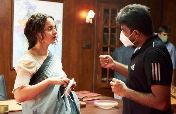Kangana Ranaut with director Vijay