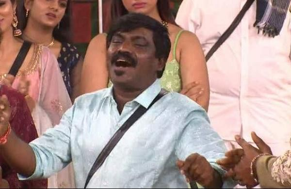 Velmurugan in Bigg BossHouse