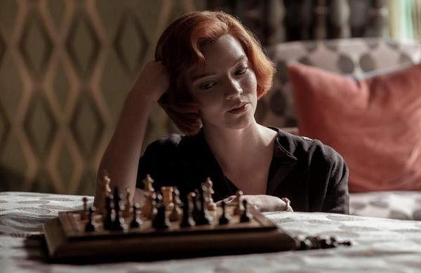 A still from Queen's Gambit