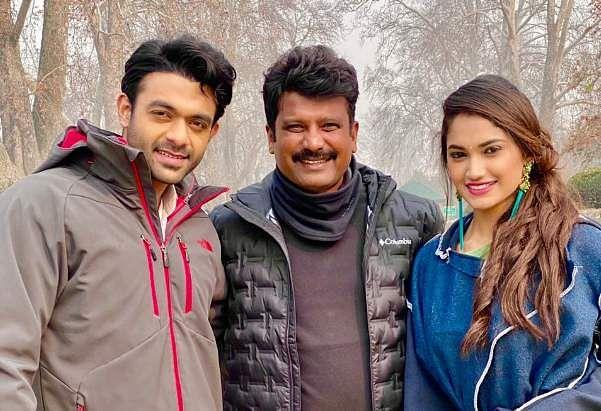 Director Prem shoots EK Love Ya song in freezing weather