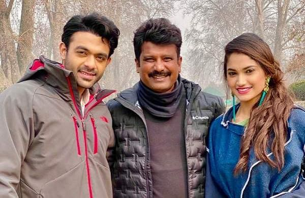 Director Prem shoots EK Love Ya song in freezing weather