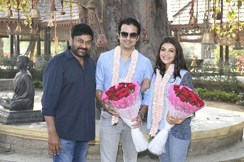 Kajal Aggarwal joins the sets of Chiranjeevi's Acharya