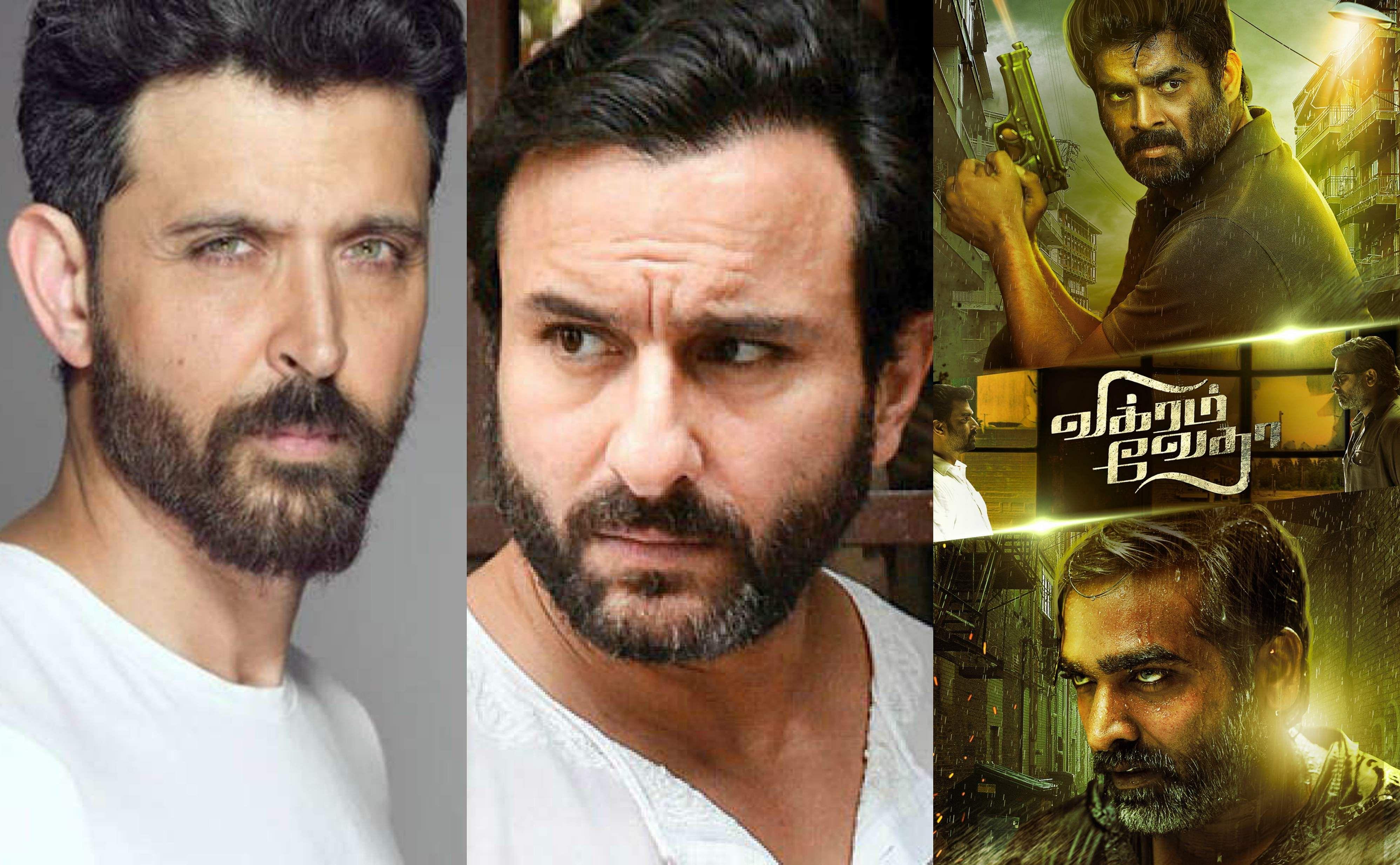 Hrithik Roshan and Saif Ali Khan to star in Vikram Vedha's Hindi remake-  Cinema express
