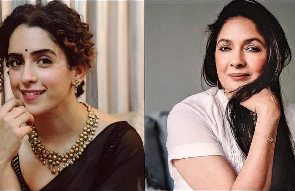 Sanya Mahotra and Neena Gupta