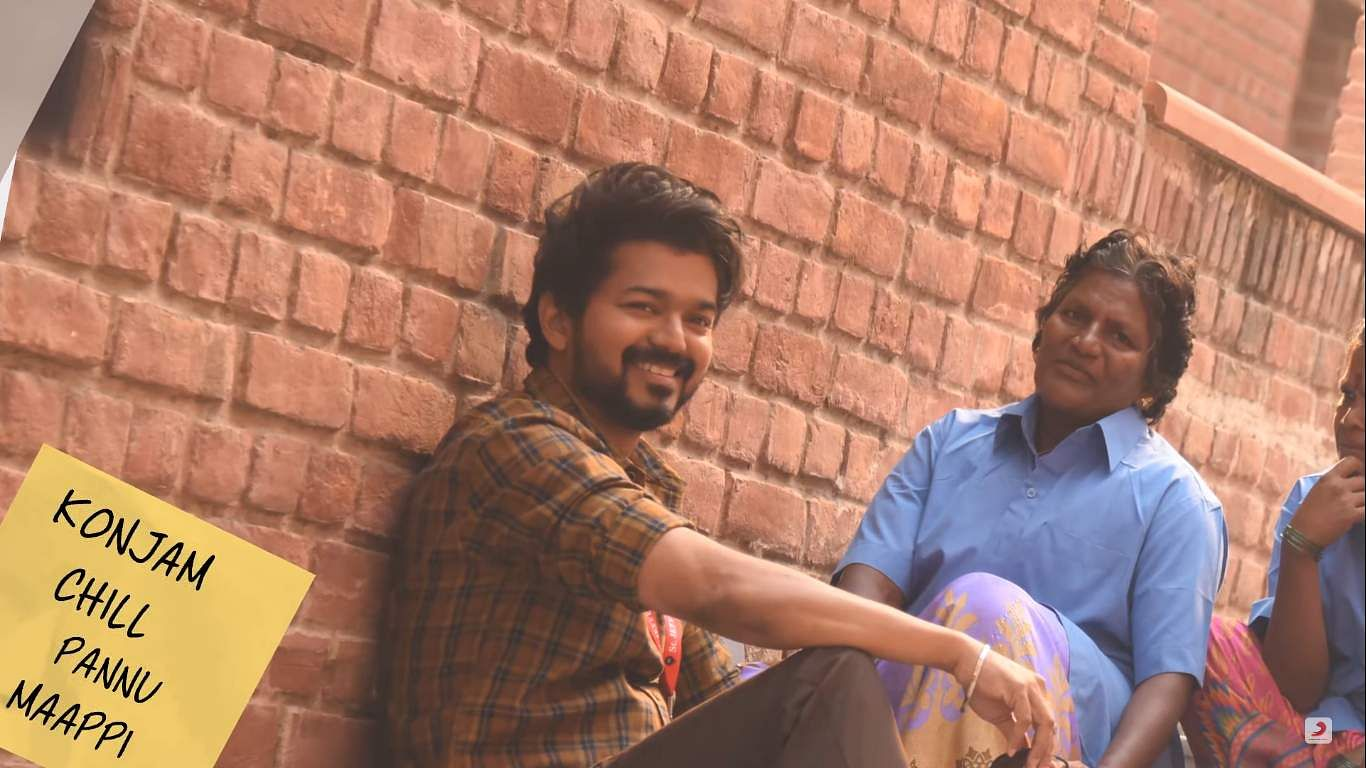 Oru Kutti Kathai/Story: Here are 40 wallpaper-worthy images from the first single of Vijay 's Master