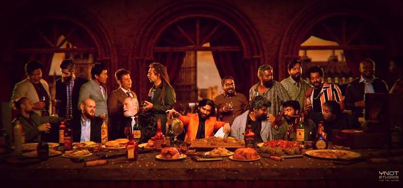 The Last Supper in Jagamae Thanthiram
