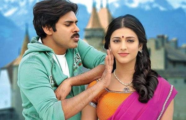 Pawan Kalyan and Shruti Haasan