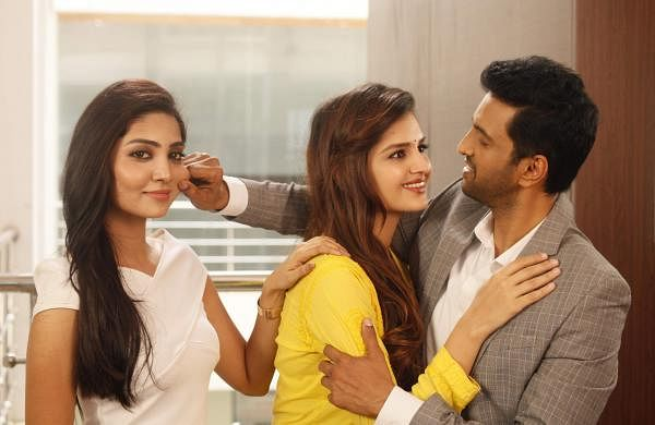 A still from Santhanam's Biskoth