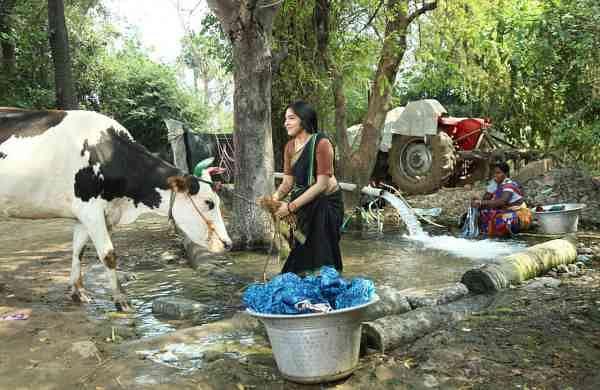Ramya as Lakshmi in Sanga Thalaivan