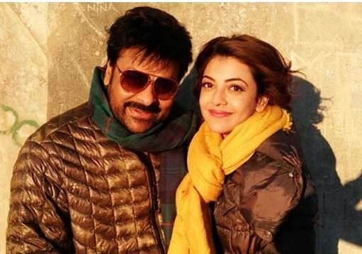 Chiranjeevi and Kajal Aggarwal