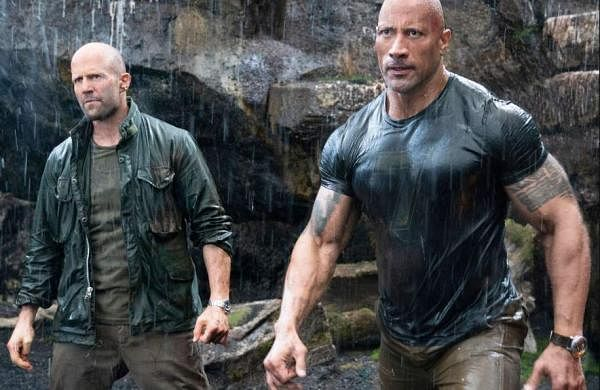 A still from Hobbs & Shaw