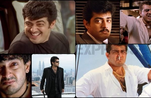 17 Years of Villain: Seven times Ajith was the Thala in playing multiple roles in a film