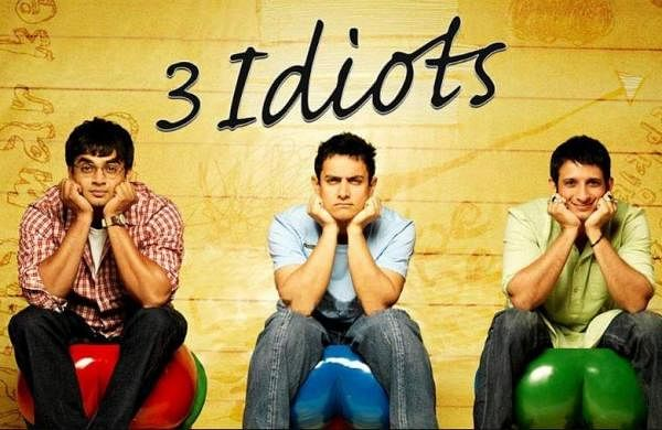 Poster of 3 Idiots