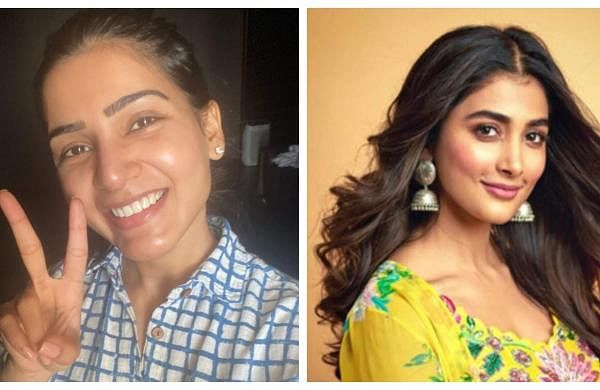 Samantha and Pooja Hegde