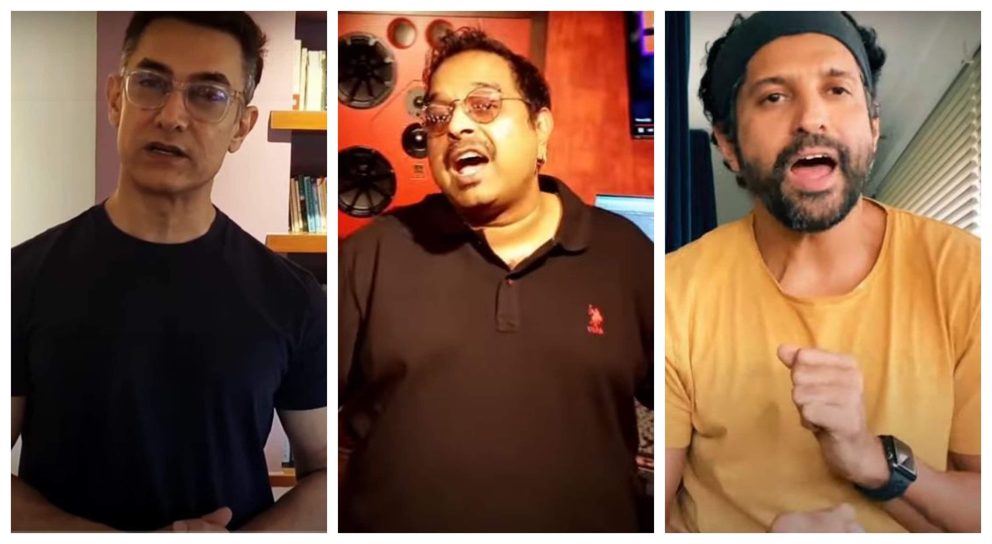 Shankar Mahadevan recreates Dil Chata Hai song