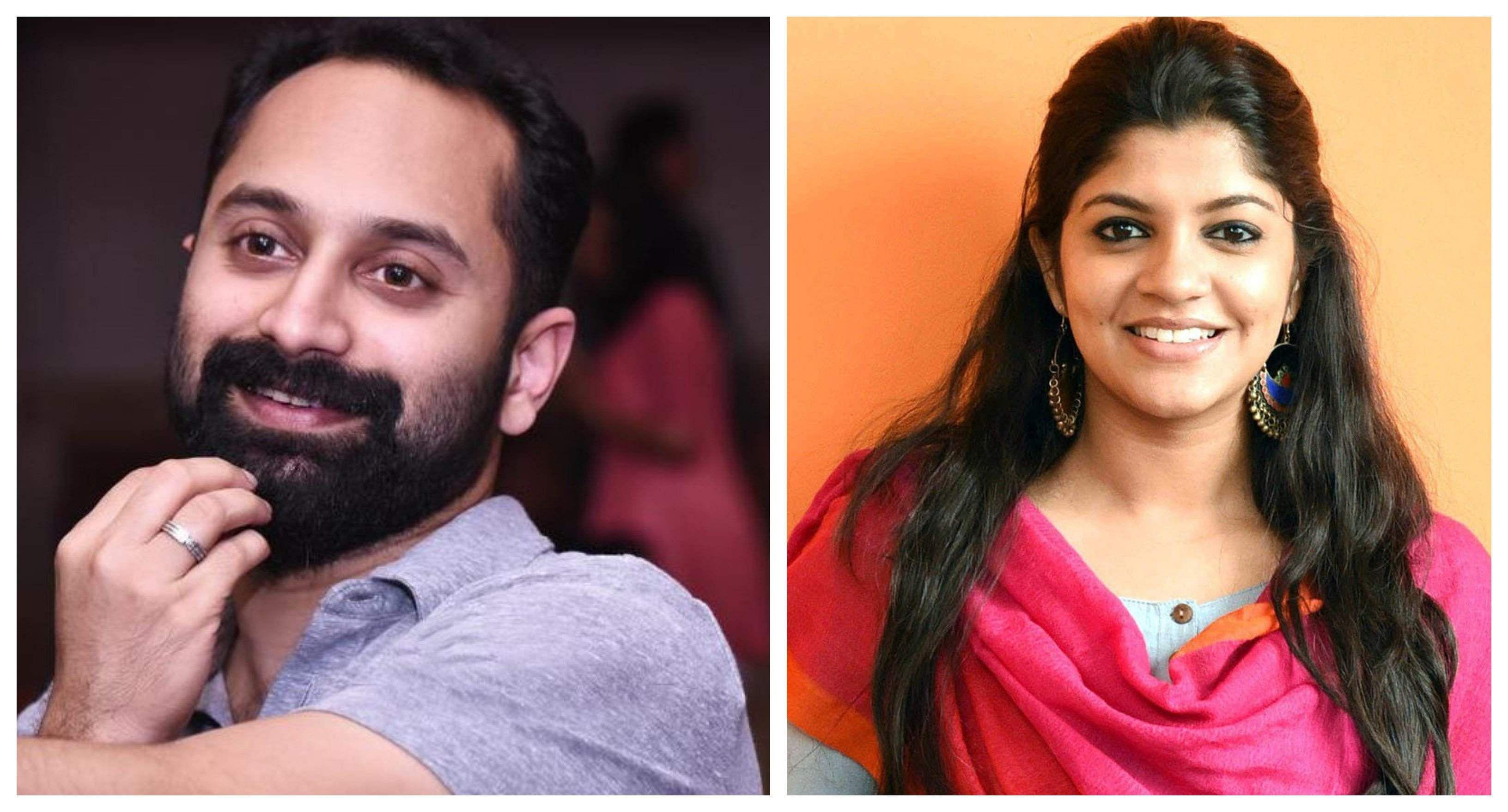 Fahadh and Aparna Balamurali