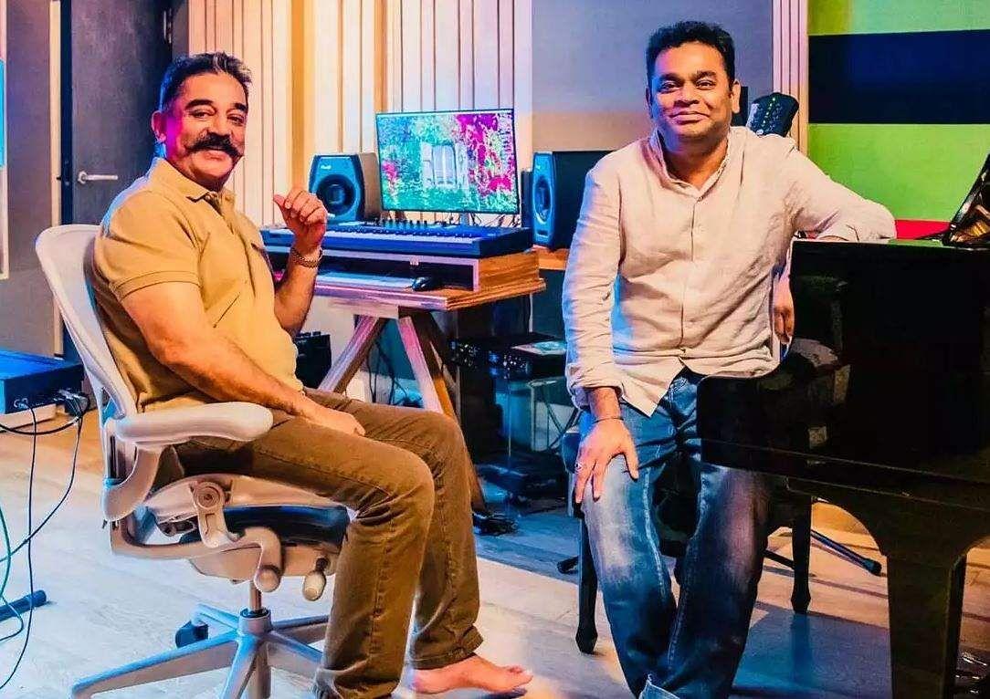 Kamal Haasan and AR Rahman