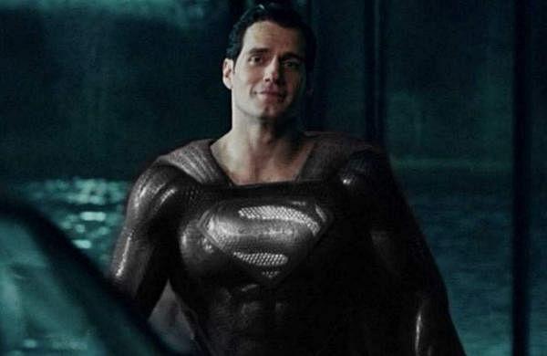 Superman in black