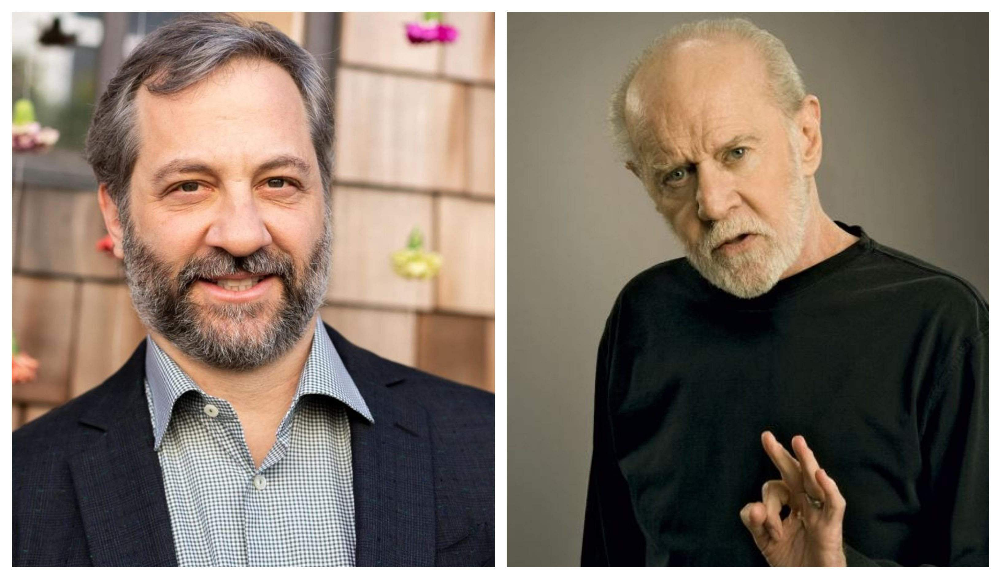 Judd Apatow and George Carlin