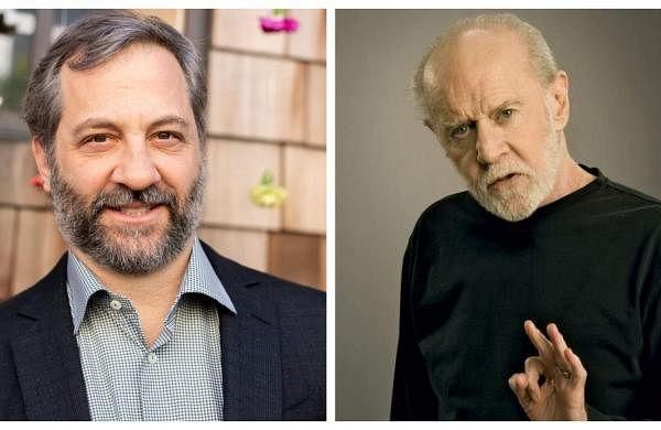 Judd Apatow and George Carlin