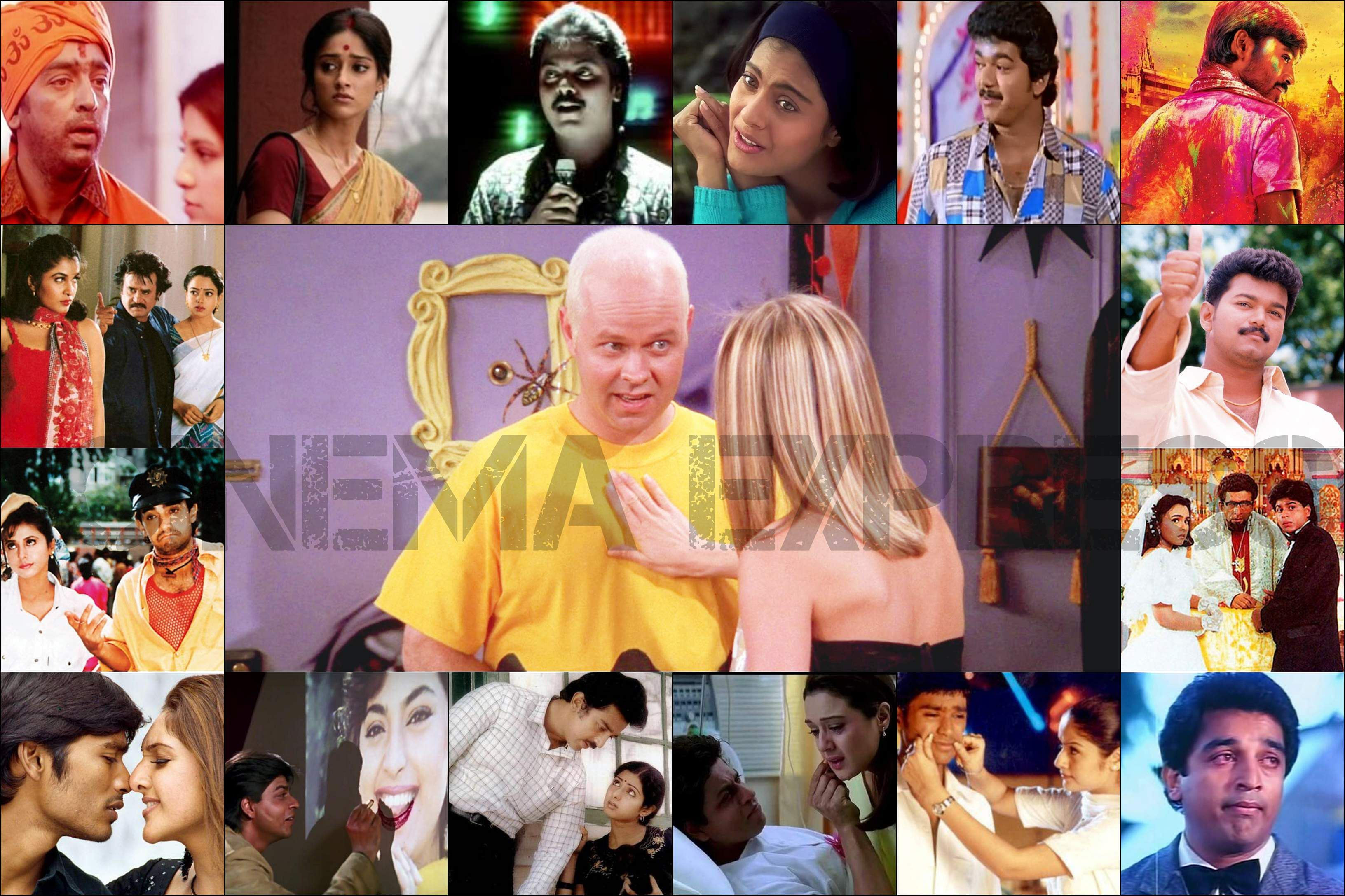 26 Years of Friends: 25 different types of Gunther in Tamil Cinema and Bollywood