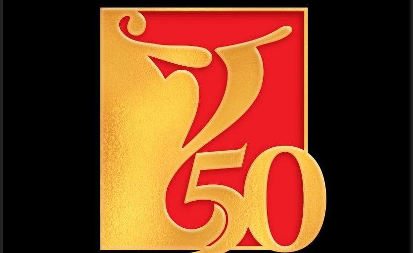 Special logo commemorating 50 years of YRF