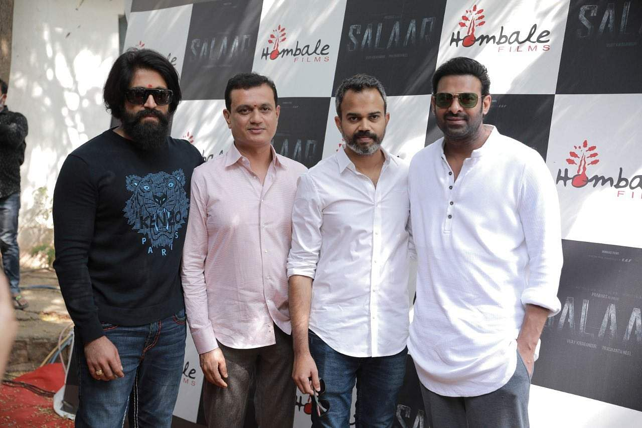 Prabhas' Salaar launched, Yash and Rajamouli attend the event
