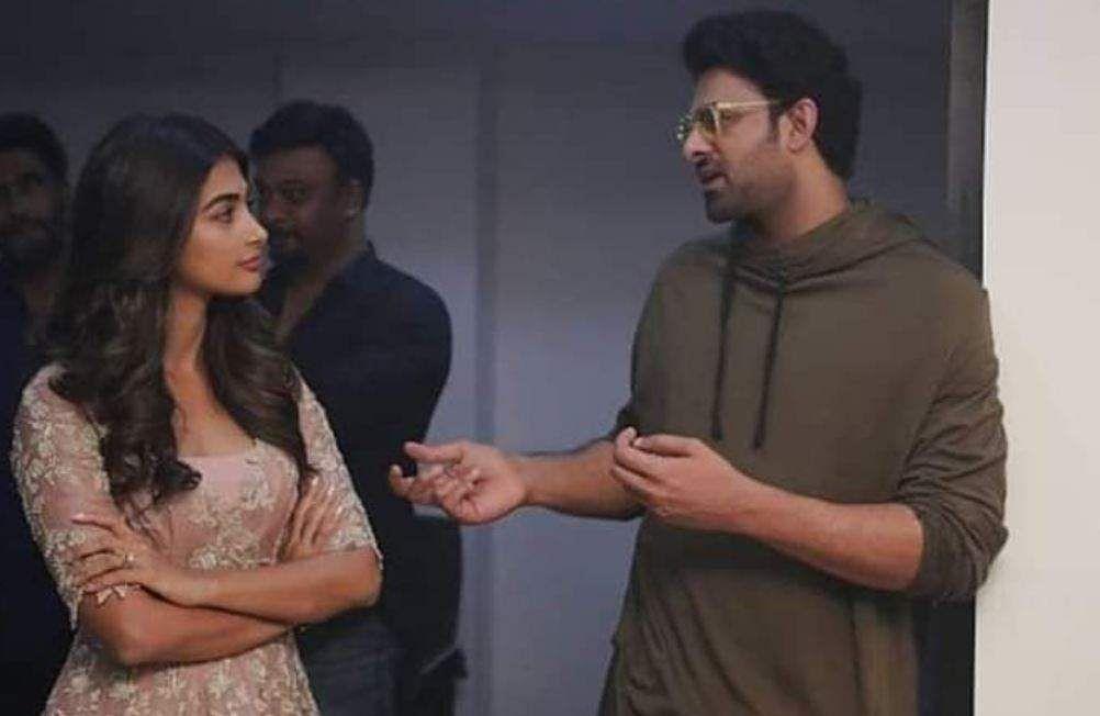 Pooja Hegde and Prabhas